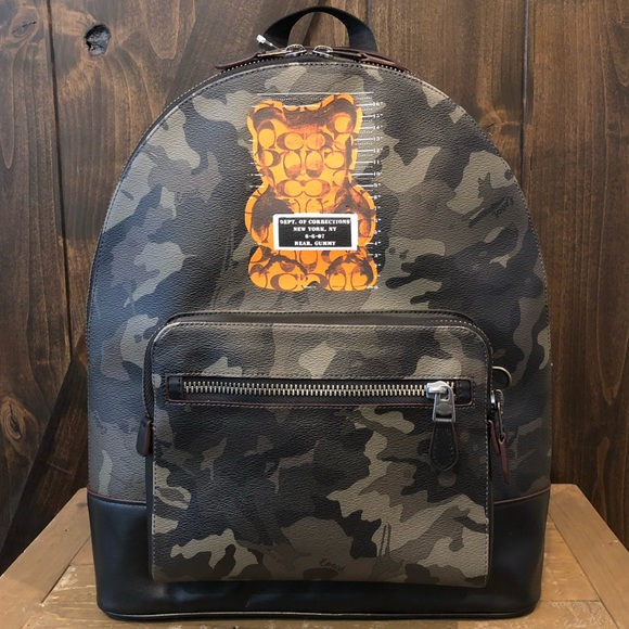 Coach Other - NWT Authentic Coach Vandal Gummy Camo Backpack